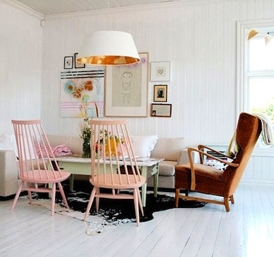Color Obsessed: Pale Pink Chairs  {Rose Gold Blog}