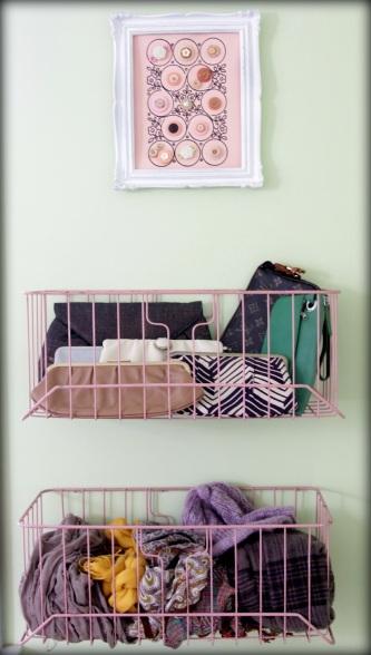 Color Obsessed: Pale Pink Basket  {Rose Gold Blog}