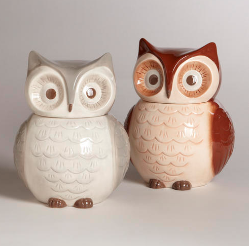 Owl Cookie Jar {Rose Gold Walls Blog}