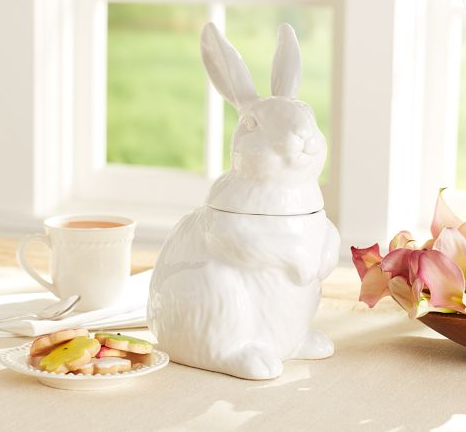Bunny Cookie Jar {Rose Gold Blog}