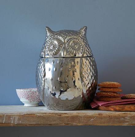Metallic Owl Jar {Rose Gold Blog}