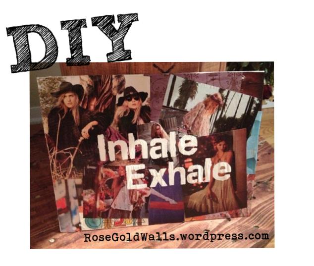 DIY: Magazine Cut Out Header {Rose Gold Walls Blog}