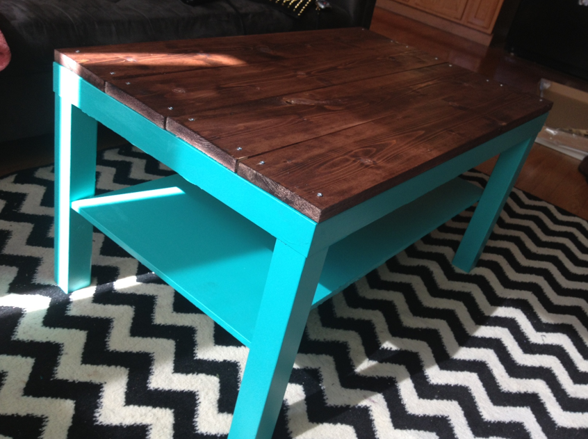 Wall Table Ikea Diy Ikea Hack Coffee Table