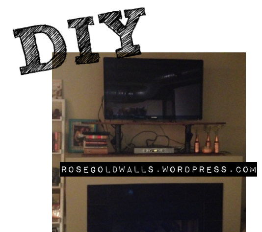 DIY: TV Stand Image